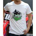 _Logo GMX Dirt Passion Tee White | PU-TGMXDPWT | Greenland MX_
