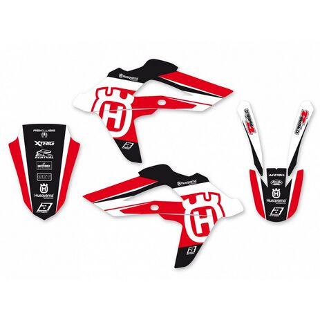 _Blackbird Dream 4 Husqvarna TE/TC 250 08-13 TE/TC 450/510 08-10 Kit Decal | 2608N | Greenland MX_