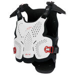 _Alpinestars A-4 Chest Protector White/Black/Red | 6701517-213 | Greenland MX_