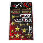 _Rockstar 4MX Assorted Decals | 01KITA606R | Greenland MX_