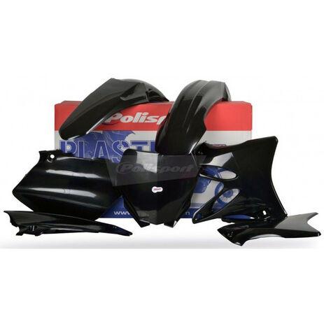 _Polisport Yamaha YZ 125/ 250 06-14 Plastic Kit Black | 90393 | Greenland MX_