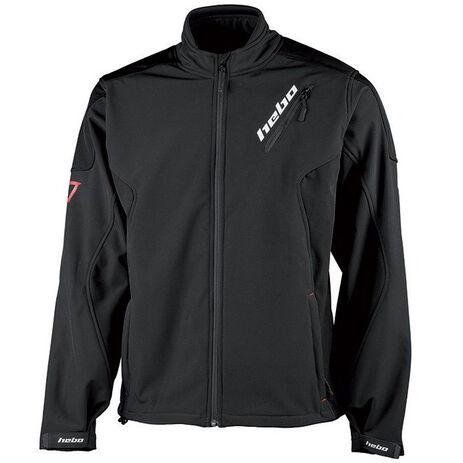 _Hebo Baggy Softshell Jacket Black | HE4260N | Greenland MX_