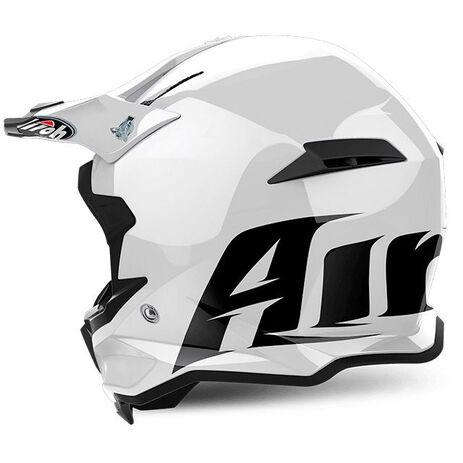 _Airoh Terminator Open Vision Color White Gloss Helmet 2018 | TOV14 | Greenland MX_