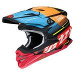 _Shoei Helmet VFX-WR Zinger TC-10 | VFXWRZTC100 | Greenland MX_