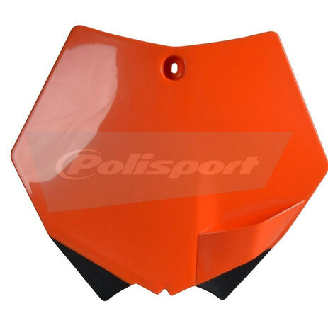 _Polisport KTM SX/ SXF 07-12 front plate orange | 8664400001 | Greenland MX_