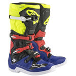 _Alpinestars Tech 5 Boots Blue/Black/Yellow Fluo/Red | 2015015-7153 | Greenland MX_