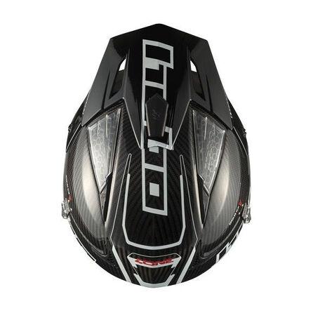 _Trial Hebo Zone 4 Carbon Helmet Black | HC1060N | Greenland MX_