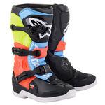 _Alpinestars Tech 3S Youth Boots Black/Gray/ Yelloww   2014018-1538   Greenland MX_