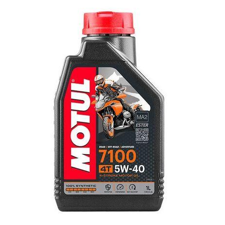 _Motul Oil 7100 5W-40 4T 1L | MT-104086 | Greenland MX_