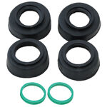 _4MX Beta Enduro 13-.. Wheel Bearing Protector Kit Black | 4MX-BP-03-BK | Greenland MX_