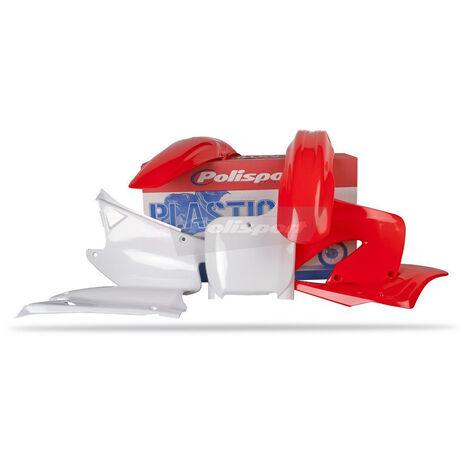 _Polisport CR125/ 250 00-01 plastic kit | 90081 | Greenland MX_