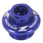 _Honda Yamaha Oil Filler Plug Azul | ZE89-2112 | Greenland MX_