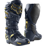 _Fox Instinct Limited Edition Boots Navy/Gold | 24277-156 | Greenland MX_