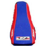 _TJ Gripper Seat Cover With Ripples Honda CRF 250 R 10-13 CRF 450 R 09-12 Blue-Red | GCRF2501013AZ | Greenland MX_