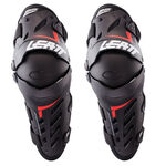 _Leatt Dual Axis Knee Guard Black/Red | LB5017010180P | Greenland MX_