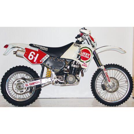 _Tecnosel Sticker Kit Replica Team CH Racing Husqvarna 1993 CR/WR 91-94 | 26V00 | Greenland MX_