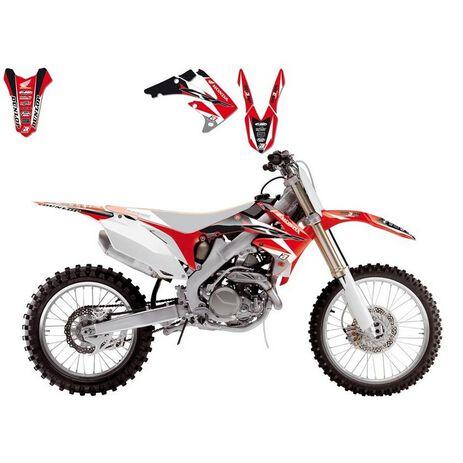 _Blackbird Dream 4 Honda CRF 250 04-09 Kit Decal | 2135N | Greenland MX_