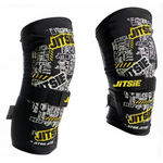_Jitsie trial Dynamic kid knee guard black pair | JI-12T1-6000K | Greenland MX_