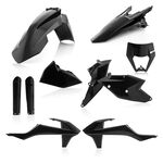 _Acerbis KTM EXC/EXC-F 17-19 Plastic Kit Full Black | 0022371.090-P | Greenland MX_