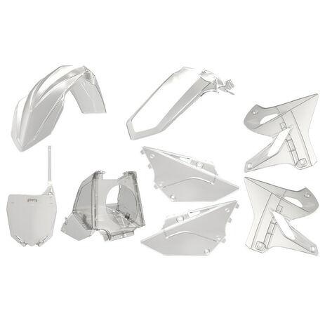 _Polisport Restyling YZ 125/250 02-18 Plastic Kit Transparent | 90773 | Greenland MX_