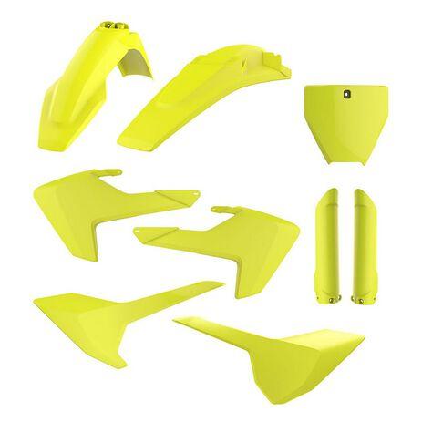 _Polisport Husqvarna TC/FC 16-18 Plastic Kit Full Yellow Fluor   90741-P   Greenland MX_