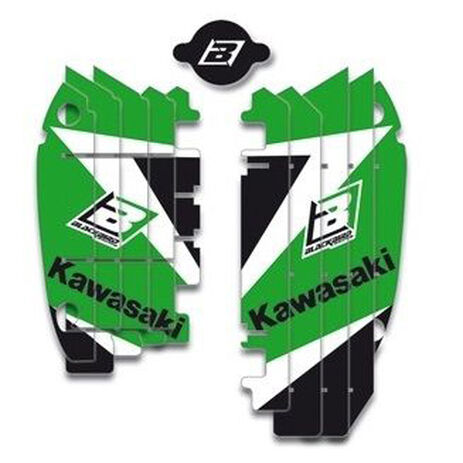 _Kit Decal Rad Louver Blackbird Kawasaki KX 450 F 09-15 | A401E | Greenland MX_