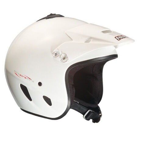 _Hebo Zone PolycarbonateTrial Helmet White | HC1100B | Greenland MX_