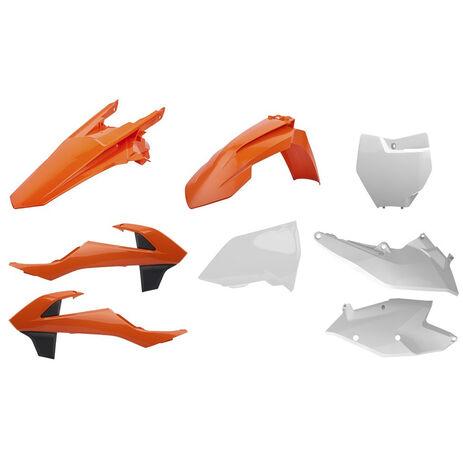 _Polisport KTM SX 125/144/250 SX-F 16-..SX 250 17-.. Plastic Kit OEM | 90750 | Greenland MX_