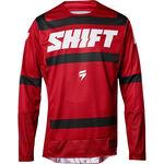 _Shift 3Lack Label Strike Jersey Red | 19311-208-P | Greenland MX_