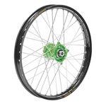 _Talon-Excel Kawasaki KX 125/250 04-08 KX 250/450 F 04-..21 x 1.60 Front wheel Green-black   TW776GRBK   Greenland MX_