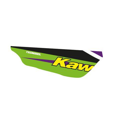 _ Tecnosel Seat Cover Replica Team Kawasaki 1998 KX 125/250 94-98 | 14V02 | Greenland MX_