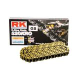 _RK 520 KRO Reinforced Chain 120 links Gold | HB752040120G | Greenland MX_