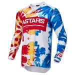 _Alpinestars Racer Squad Jersey White/ Yelloww   3762022-2357   Greenland MX_
