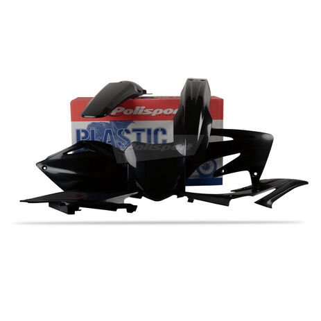 _Polisport CRF 250 08 plastic kit black | 90144 | Greenland MX_