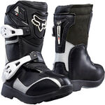 _Fox Comp 5K Youth Boots Black/Gray | 05014-464-P | Greenland MX_