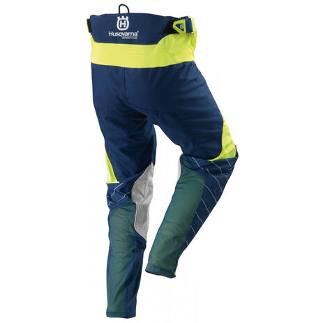 _MX Husqvarna Railed Pants Blue/Yellow | 3HS162250P | Greenland MX_