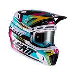 _Leatt Moto 8.5 V22 Helmet with Goggles Turquoise   LB1022010110-P   Greenland MX_