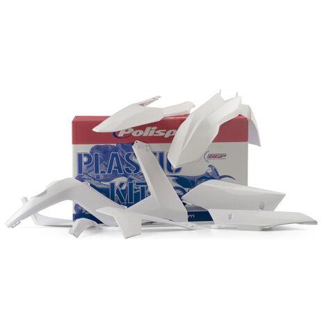 _Polisport Plastic Kit Gas Gas EC 12-13 White | 90490 | Greenland MX_