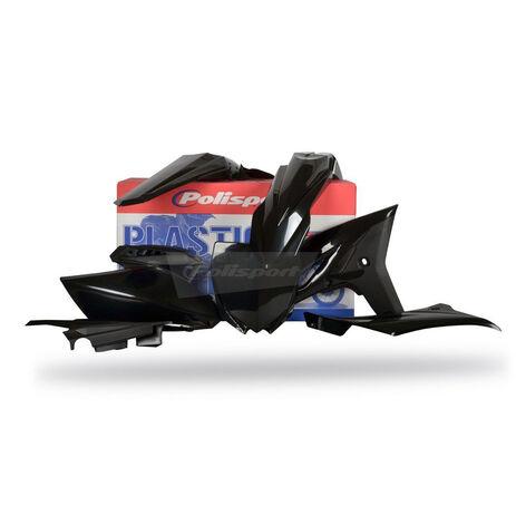 _Polisport Yamaha YZ 250 F 10-13 Plastic Kit Black | 90260 | Greenland MX_