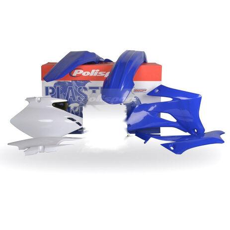 _Polisport Yamaha WR 250 F 07-14 WR 450 F 07-11 Plastic Kit Blue | 90136 | Greenland MX_