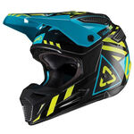_Leatt GPX 5.5 V19.1 Helmet Black/Lime | LB1019100100P | Greenland MX_