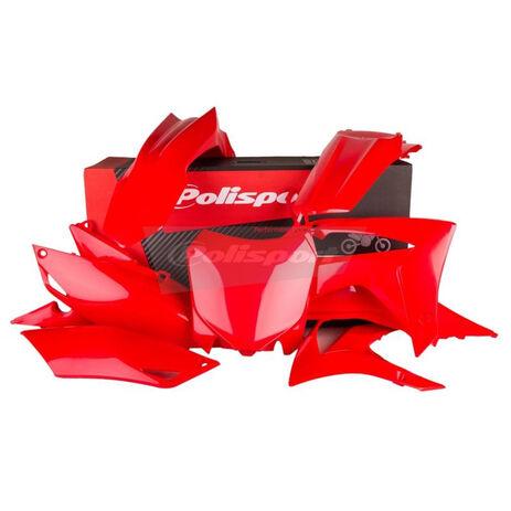 _Polisport Honda CRF 250 R 14-17 CRF 450 R 13-16 Plastic Kit Red   90628   Greenland MX_