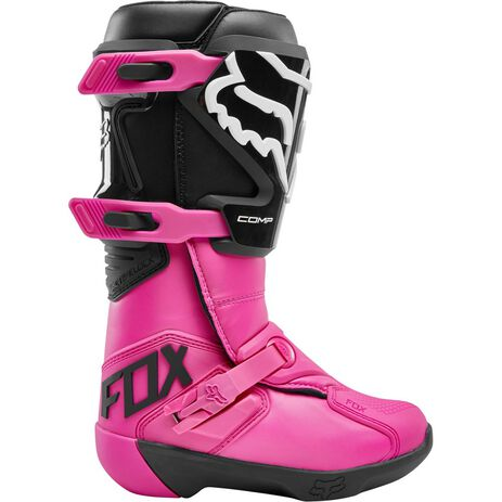 _Fox Comp Women Boots Black/Pink   24013-285   Greenland MX_