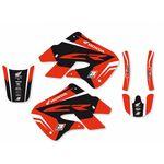 _Blackbird Dream 4 Honda CR 125 98-99 CR 250 97-99 Kit Decal | 2139N | Greenland MX_