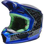 _Fox V1 Peril Helmet Blue | 27998-002 | Greenland MX_