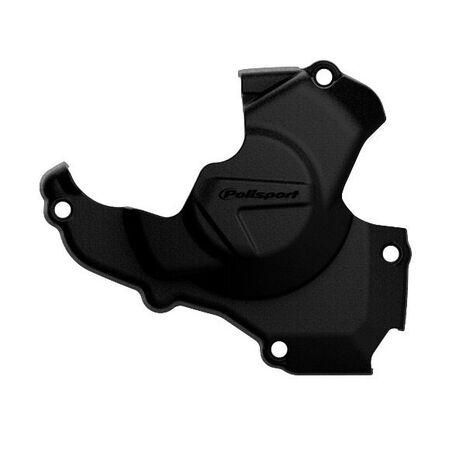 _Honda CRF 450 R 11-16 Ignition Cover Protector Polisport Black | 8461200001 | Greenland MX_