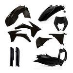 _Acerbis KTM EXC/EXC-F 12-13 Plastic Kit Full Black | 0016234.090-P | Greenland MX_