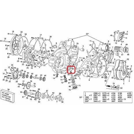 _Hot Rods Crankshaft Yamaha YZ 250 01-02 | 4038 | Greenland MX_