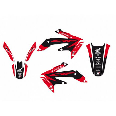 _Blackbird Dream 4 Honda CRF 450 X 04-16 Kit Decal | 2143N | Greenland MX_