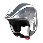 _Shiro K2 Grafic Trial Helmet Black | 000736N-P | Greenland MX_
